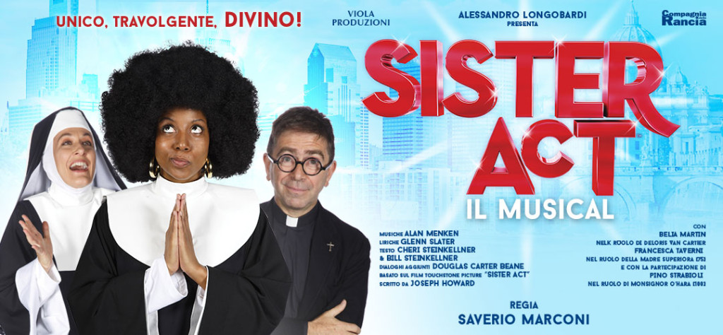 Sister Act il Musical - Media